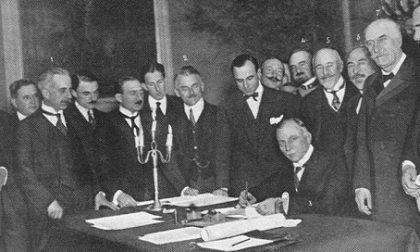 Cento anni fa il Trattato di Rapallo