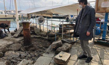 Santa Margherita, prelevati due degli antichi cannoni per verifiche
