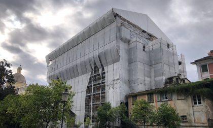 Completamento del restauro di Palazzo Rocca, ok della Giunta