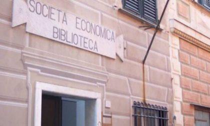 Società Economica, lunedì riprende il prestito libri in biblioteca