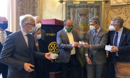Anche a Chiavari il Rotary dona i buoni spesa