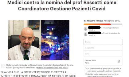 Bassetti, la discussa nomina ministeriale e la goffa petizione contraria
