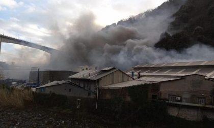 Esplosione in una fabbrica sopra Voltri