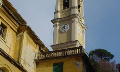 Incendio in sacrestia, gravi danni alla chiesa di Borzonasca