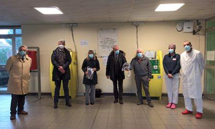 Il Rotary dona altri caschi per l'ossigenoterapia all'ospedale di Sestri