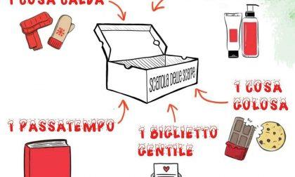 Una scatola di Natale per i più bisognosi