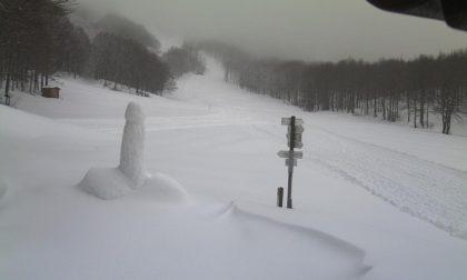 … Fallo ancora: il concorso di sculture di neve in Val d'Aveto