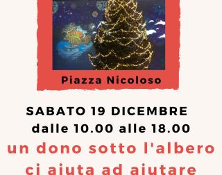 Domani la raccolta in piazza Nicoloso