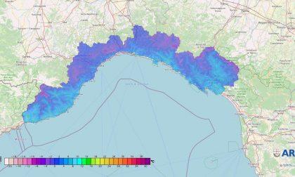 Nel Levante registrata la temperatura più bassa di tutta la Regione