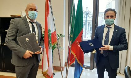 Visita in Regione del Console onorario del Libano