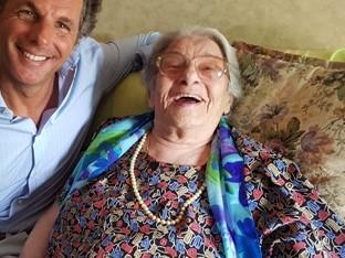 Addio alla più anziana della Liguria, Celestina Gardella