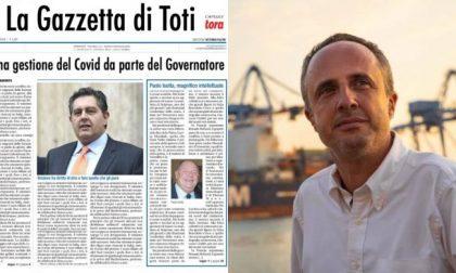"""Sansa su Liguria Digitale e Toti: """"duce con la d minuscola"""""""