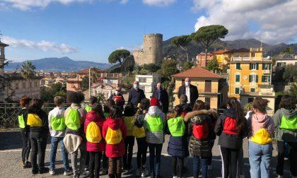 LabTer, Fiab Vivinbici e mobilità sostenibile: i ragazzi della 1F incontrano Di Capua