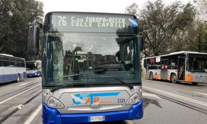 AMT, due nuovi autobus nel Golfo Paradiso