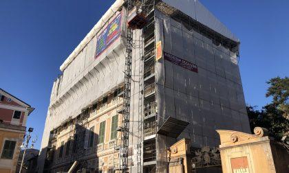 Prosegue il restyling di Palazzo Rocca: aggiudicati i lavori per il restauro dei prospetti ovest ed est