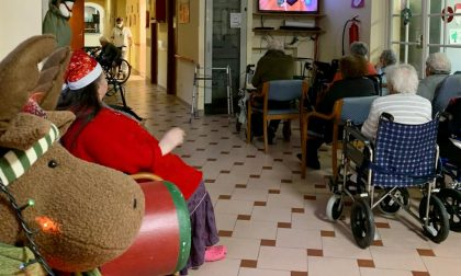 Festa di Natale a distanza per gli ospiti del Torriglia