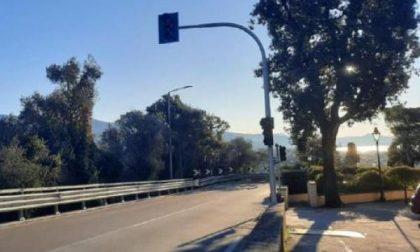 Un nuovo semaforo a Bacezza