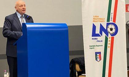 Giulio Ivaldi rieletto presidente del Comitato ligure della Lega Nazionale Dilettanti