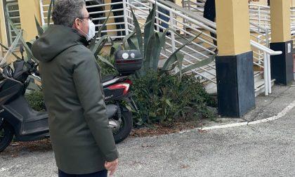 Sopralluogo del sindaco Gandolfo al centro vaccinale