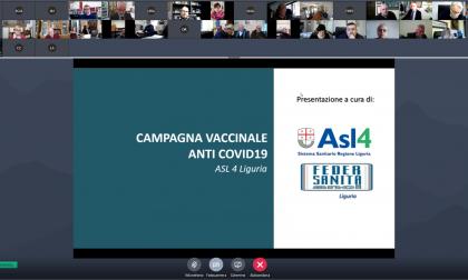 Campagna vaccinazione over 80 nei Comuni dell'Asl 4