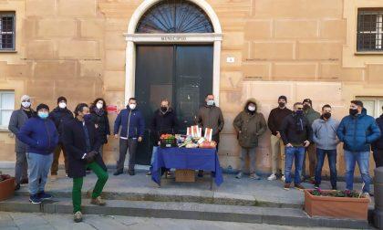 La protesta simbolica dei ristoratori a Sestri Levante
