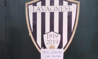 I tifosi della Lavagnese contestano la scelta della società di esonerare Nucera
