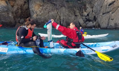 Mini-mante per raccogliere la microplastica: cominciati i test a Portofino