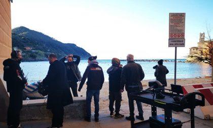 Riprese tv in Baia del Silenzio
