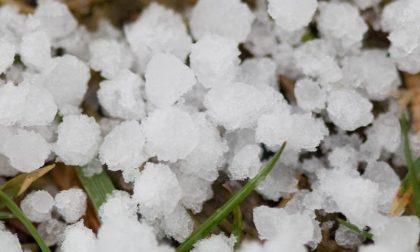 Sulla Liguria arriva Graupel. Nevica a Rezzoaglio