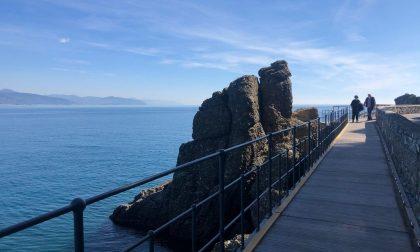 Riaperto secondo tratto passerella pedonale sp 227 per Paraggi – Portofino