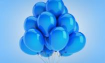 Palloncini blu a Recco per la Giornata sull'Autismo