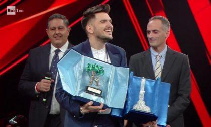 """Gaudiano trionfa con """"Polvere da sparo"""" tra le Nuove Proposte"""