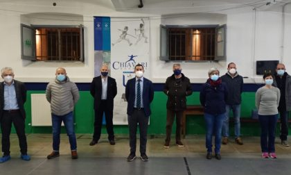 Chiavari Scherma, Orecchia riconfermato presidente