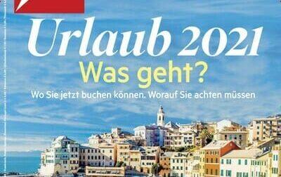 Bogliasco sulla copertina di un settimanale tedesco