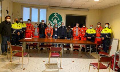 Petralia con i Volontari del Soccorso Sant'Anna