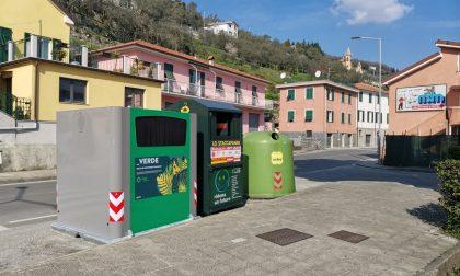 Conferimento rifiuti vegetali. Installati nuovi contenitori