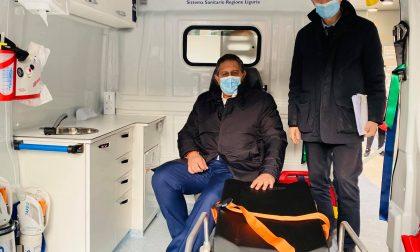 Toti inaugura ambulatorio mobile della Asl 4