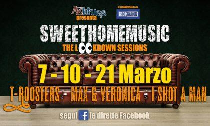 A-Z Blues, anche a marzo #Sweethomemusic direttamente a casa vostra