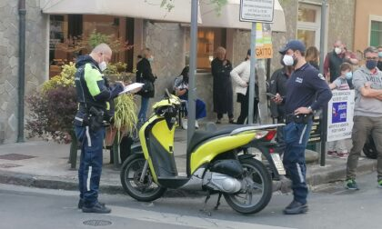 Scontro tra due scooter a Chiavari