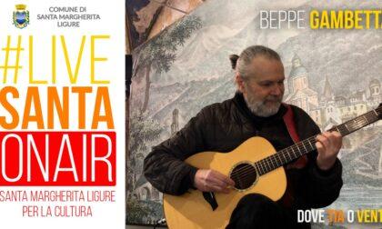 Stasera il debutto di #livesanta on air con la chitarra di Beppe Gambetta