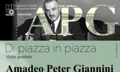 Visita guidata dedicata a Amadeo Peter Giannini. Domani sabato 24 aprile