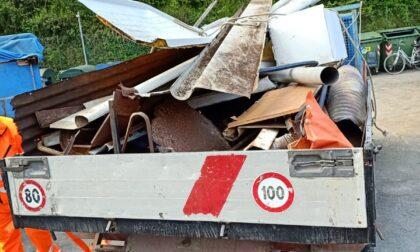 Pulizia straordinaria sul Monte San Giacomo, rimossi più di 400 kg di rifiuti