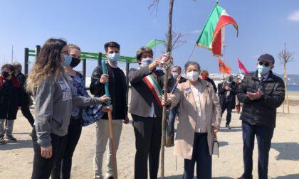 A Chiavari inaugurato il Parco della Memoria, in occasione della Giornata della Terra