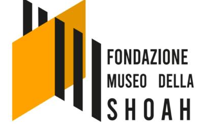 Il logo di Adrian scelto per rappresentare la Fondazione Museo della Shoah di Roma