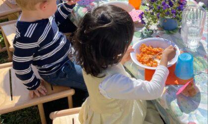 Pasqua, la festa dei bimbi del nido comunale a Sestri
