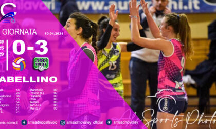 L'Admo Volley vince il derby contro la Tigullio Volley Project