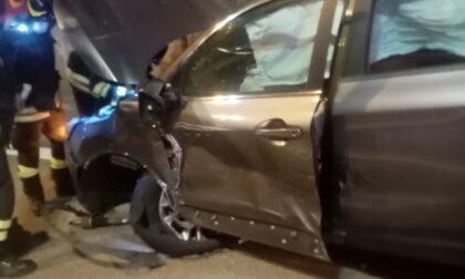 Incidente frontale in autostrada