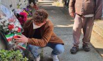 Il fiore del Partigiano, il Circolo PD di Riva rende omaggio ai partigiani rivani caduti