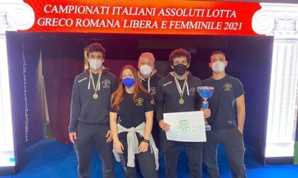 Chiavari Ring Lotta: due ori e un bronzo nel primo weekend del Campionato Italiano assoluto