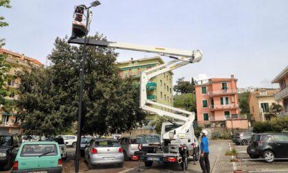 Lavori in via della Pace e in piazza Ravenna